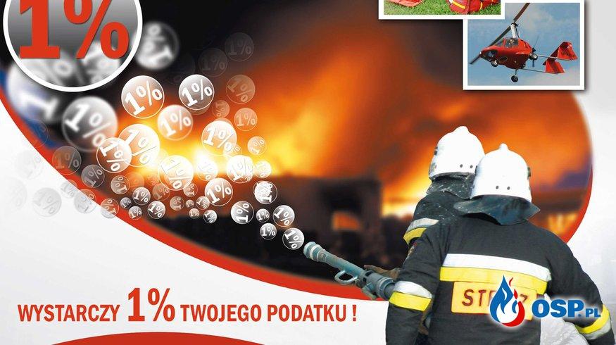 Przekaż 1% podatku OSP Ochotnicza Straż Pożarna