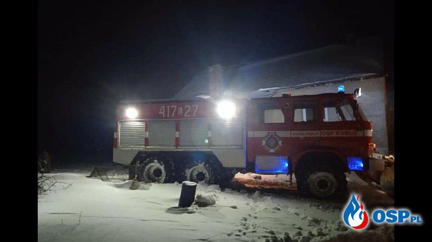 Narodziny w Walentynkową noc OSP Ochotnicza Straż Pożarna