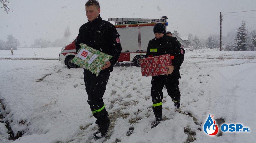 Szlachetna Paczka w Gminie Chorkówka OSP Ochotnicza Straż Pożarna