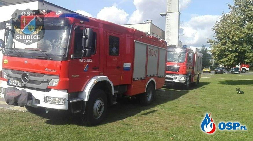 Doszło do pożaru w szkole OSP Ochotnicza Straż Pożarna
