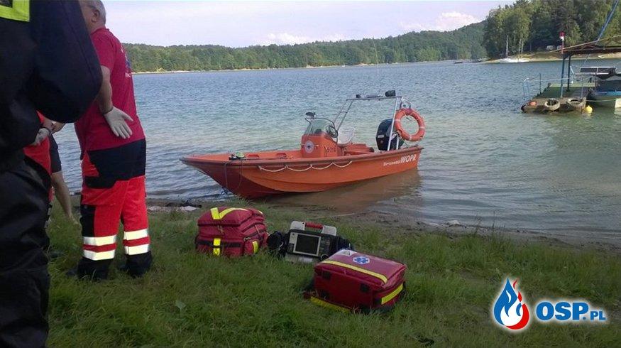 W Jeziorze Solińskim utonął strażak ochotnik z powiatu limanowskiego OSP Ochotnicza Straż Pożarna