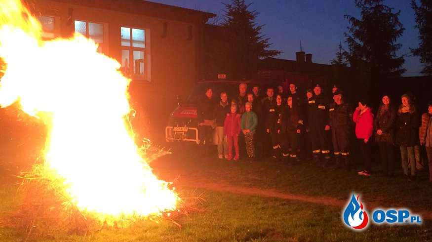 Upamiętnienie 1050 rocznicy Chrztu Polski OSP Ochotnicza Straż Pożarna
