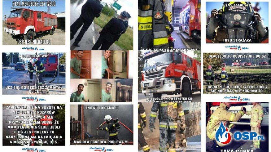 Marcowy konkurs na najlepszego STRAŻACKIEGO MEMA - WYNIKI! OSP Ochotnicza Straż Pożarna