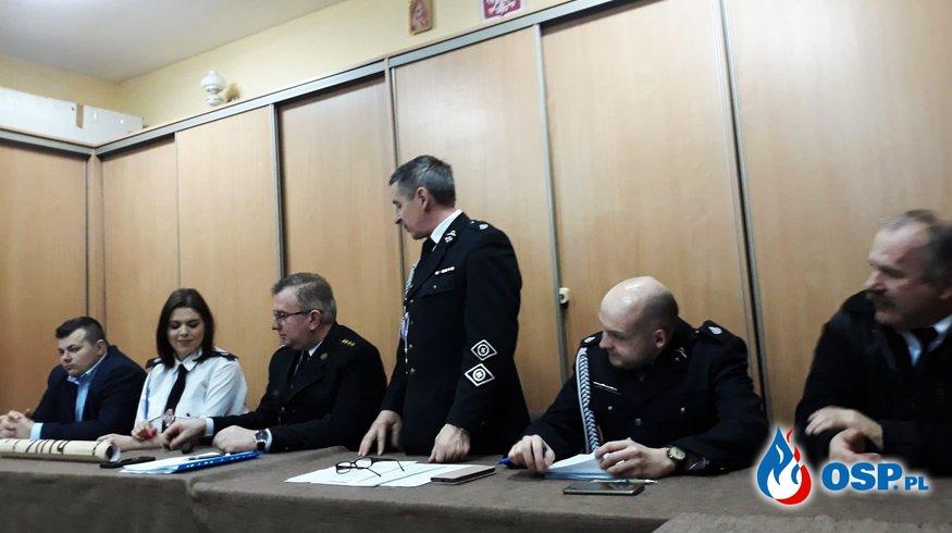 Zebranie sprawozdawcze OSP Milejczyce OSP Ochotnicza Straż Pożarna