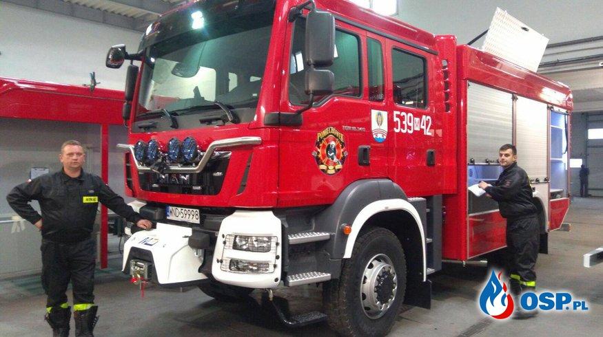 Nowy wóź strażacki ! OSP Ochotnicza Straż Pożarna