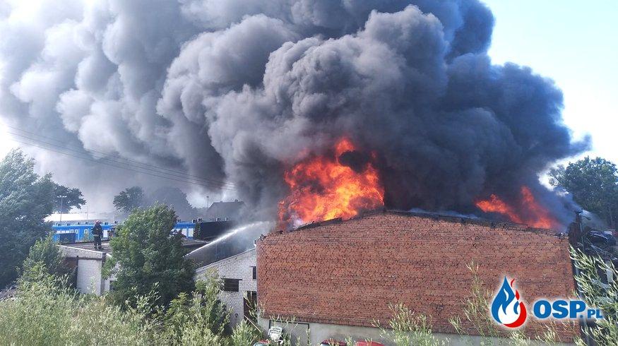 Strażak ranny podczas akcji gaśniczej w Gdańsku! OSP Ochotnicza Straż Pożarna