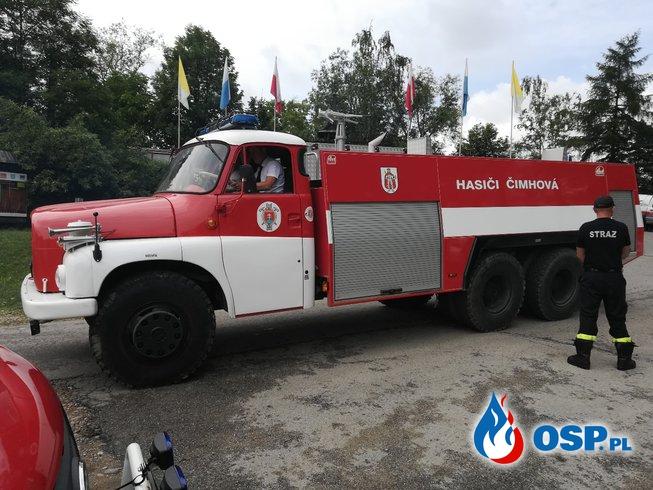 Strażacy Szlakiem św. Jana Pawła II przez Podhale OSP Ochotnicza Straż Pożarna