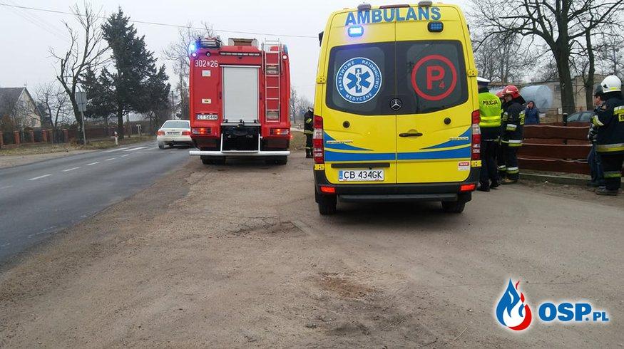 Wypadek w Nowym Dworze OSP Ochotnicza Straż Pożarna