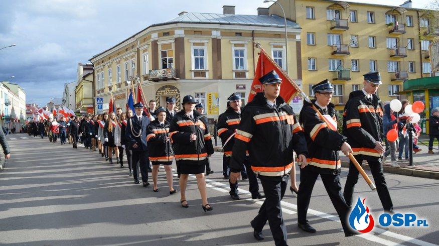 Święto Niepodległości w Sanoku  OSP Ochotnicza Straż Pożarna
