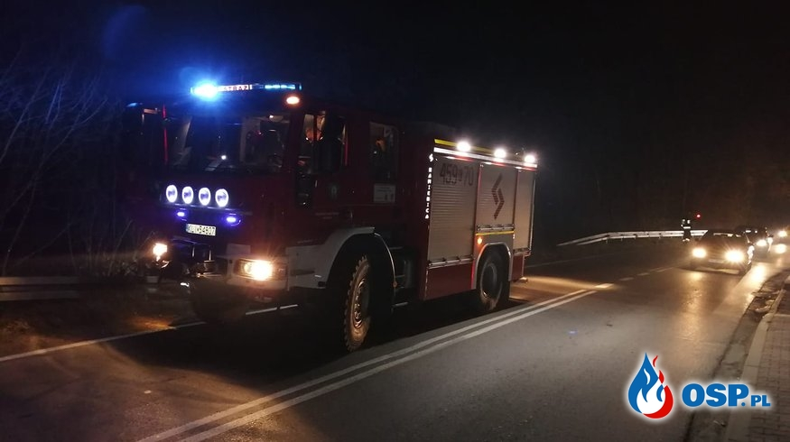POTRĄCENIE OSP Ochotnicza Straż Pożarna