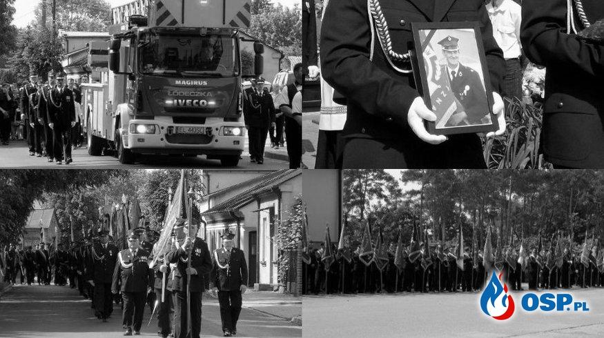 Pogrzeb śp. Andrzeja Bzdurskiego. W ostatniej drodze towarzyszyły mu tłumy strażaków! OSP Ochotnicza Straż Pożarna