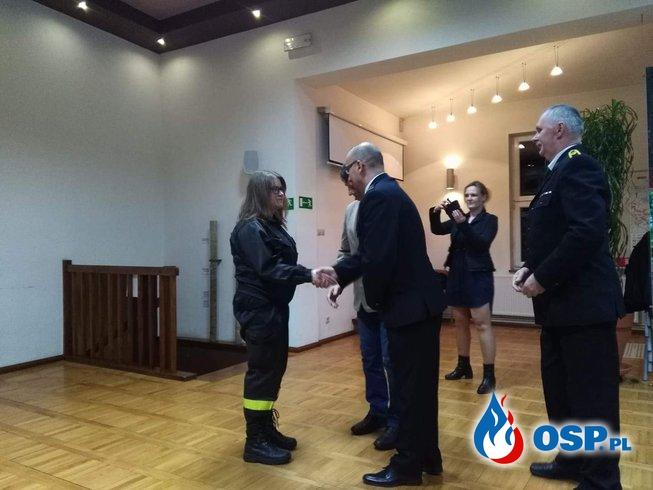 PODSUMOWANIE DZIAŁALNOŚCI OSP W Moryniu za 2018 rok OSP Ochotnicza Straż Pożarna