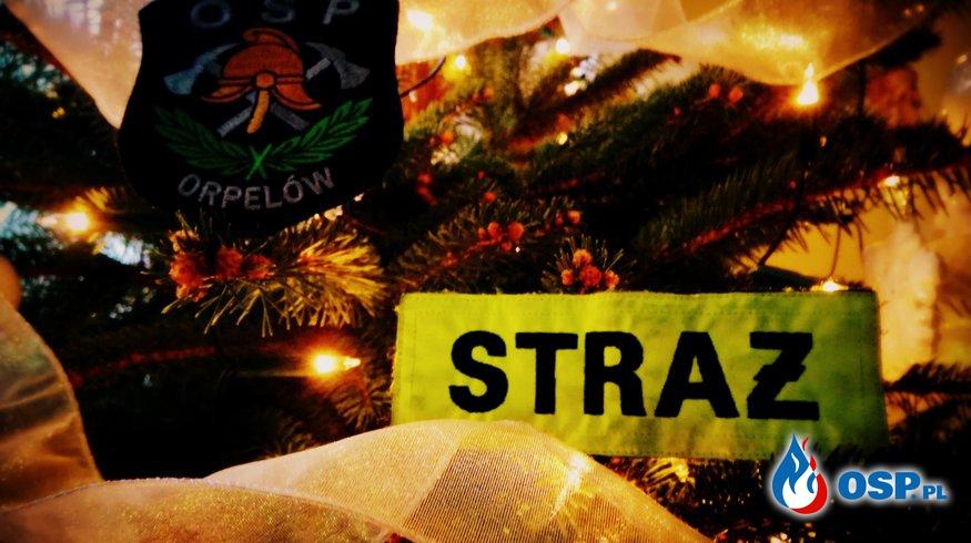Wesołych Świąt Bożego Narodzenia - Osp Orpelów  OSP Ochotnicza Straż Pożarna