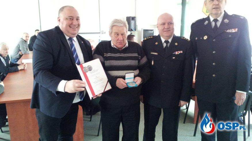 Zebranie sprawozdawcze za 2016 rok OSP Ochotnicza Straż Pożarna
