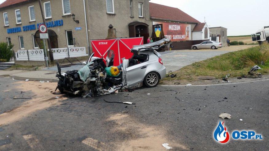 Tragiczny wypadek w Ligocie Dolnej OSP Ochotnicza Straż Pożarna