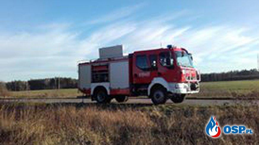 Pożary traw OSP Ochotnicza Straż Pożarna