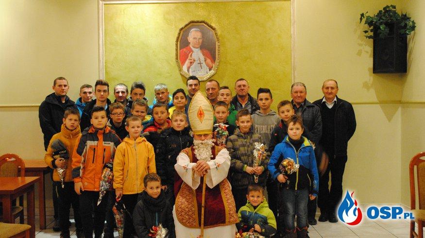 Wizyta św Mikołaja OSP Ochotnicza Straż Pożarna