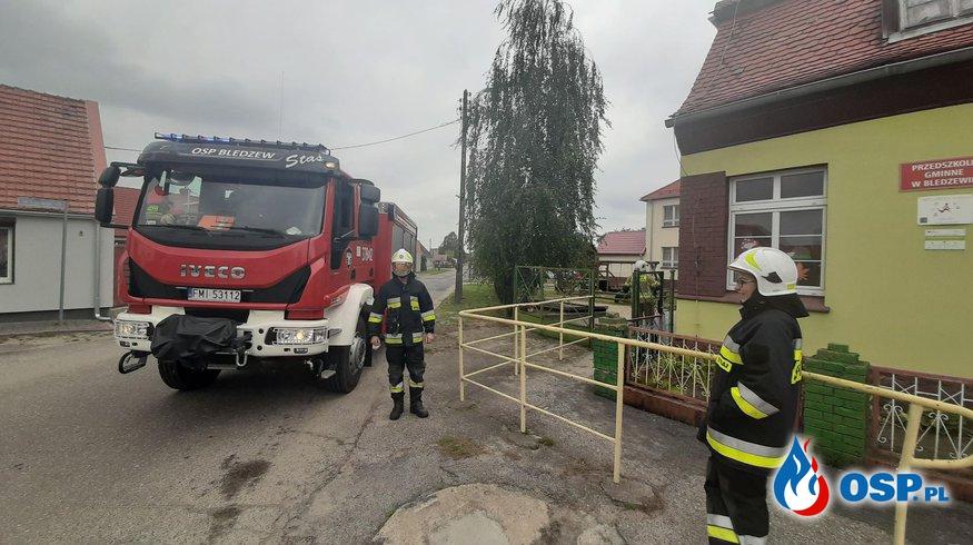 ALARM GAZOWY OSP Ochotnicza Straż Pożarna