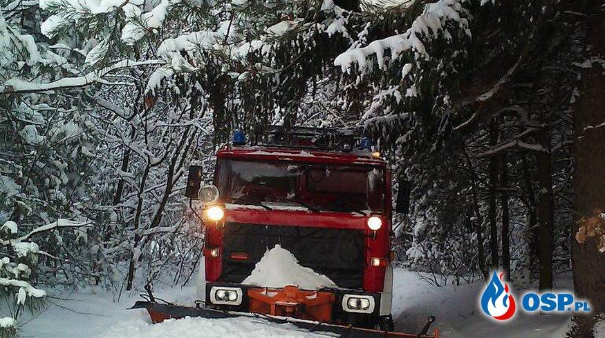 Atak zimy OSP Ochotnicza Straż Pożarna