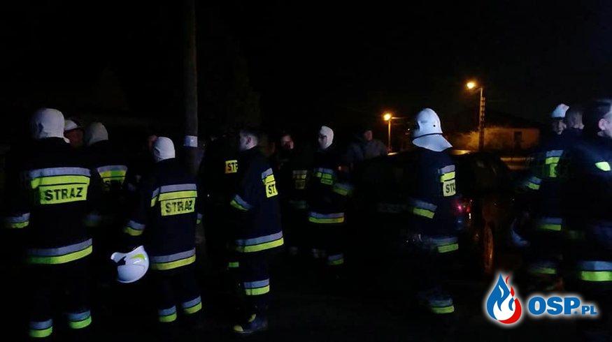 Nocne poszukiwania! OSP Ochotnicza Straż Pożarna