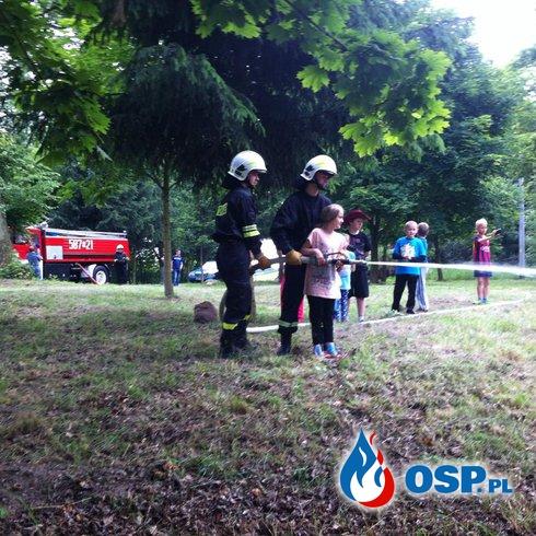 Dzień dziecka - Linówiec 2015 OSP Ochotnicza Straż Pożarna
