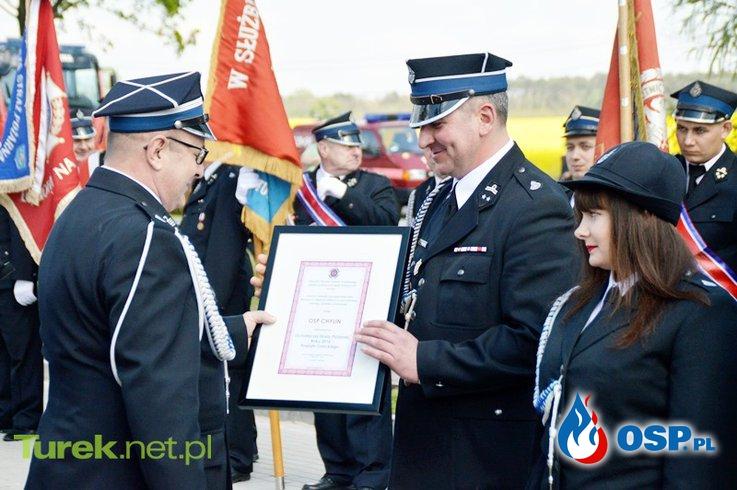 Powiatowo-Gminne Obchody Dnia Strażaka w Grzymiszewie 13.05.2017 OSP Ochotnicza Straż Pożarna