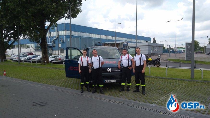 Nowy samochód w jednostce - Volkswagen T6 Transporter OSP Ochotnicza Straż Pożarna