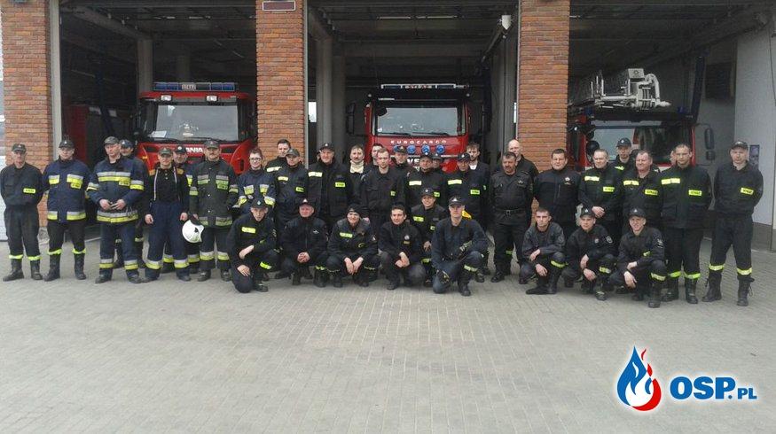 Ćwiczyli ratownictwo wysokościowe OSP Ochotnicza Straż Pożarna