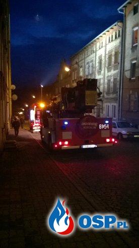 Pożar sadzy w kominie przy ul Szkolnej OSP Ochotnicza Straż Pożarna