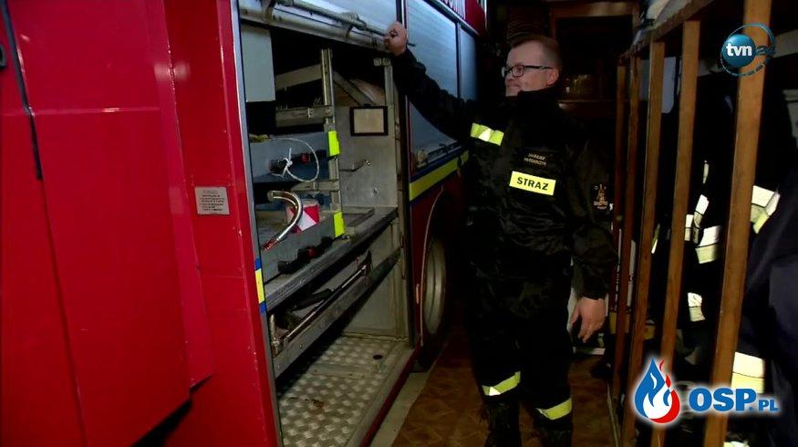 Strażacy z OSP Kośmin po włamaniu do remizy: To dla nas cios! OSP Ochotnicza Straż Pożarna