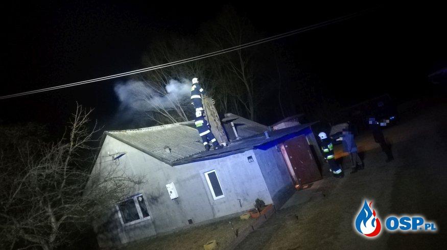 Pożar sadz na Śródborzu OSP Ochotnicza Straż Pożarna