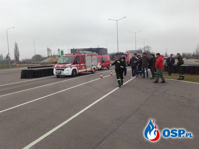 Kurs doskonalenia jazdy. OSP Ochotnicza Straż Pożarna