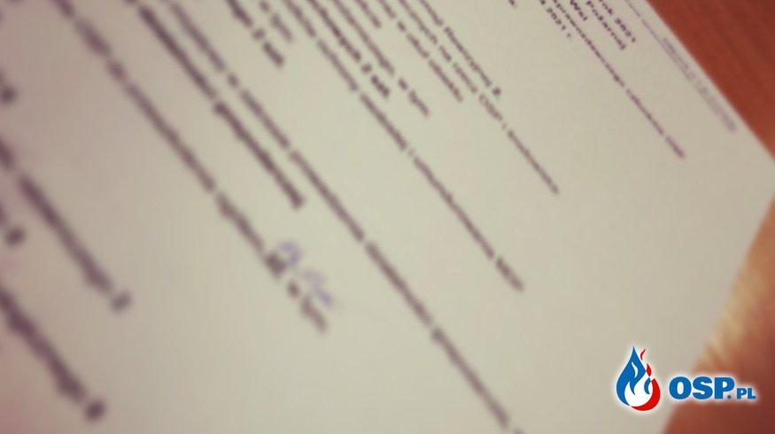 NOWY Prezes w OSP Czeska Wieś Marcin Forys zastąpił ustępującego wieloletniego prezesa Roberta Stefanika OSP Ochotnicza Straż Pożarna