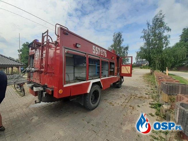 33-letni wóz bojowy zepsuł się na akcji. Strażacy z Orla potrzebują nowego wozu. OSP Ochotnicza Straż Pożarna