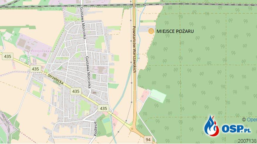 Pożar budynku mieszkalnego przy obwodnicy Opola OSP Ochotnicza Straż Pożarna