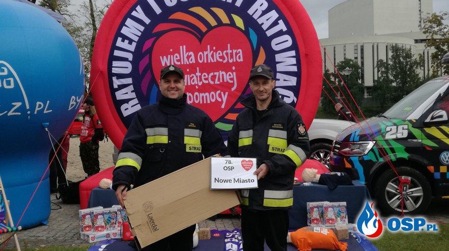 Fundacja WOŚP wsparła nowomiejskich strażaków OSP Ochotnicza Straż Pożarna