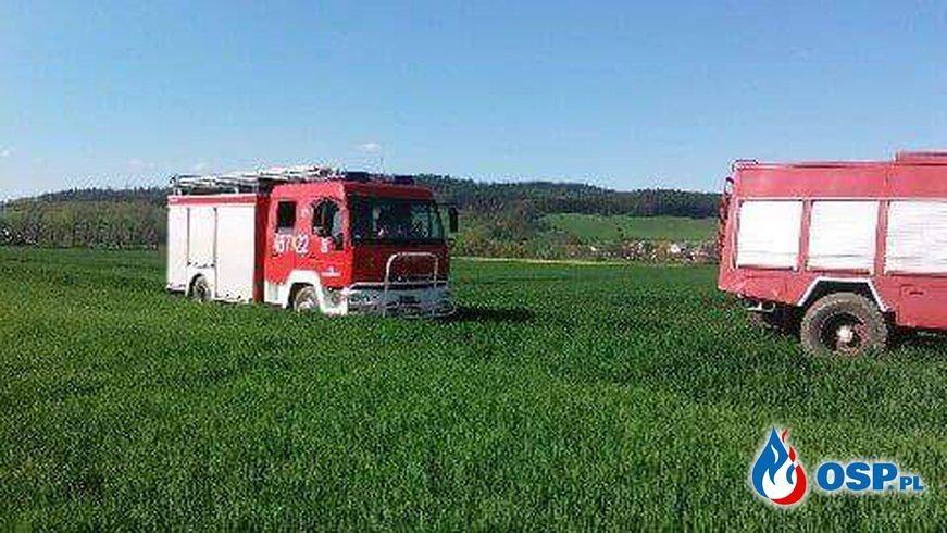 Akcja poszukiwawcza ! OSP Ochotnicza Straż Pożarna