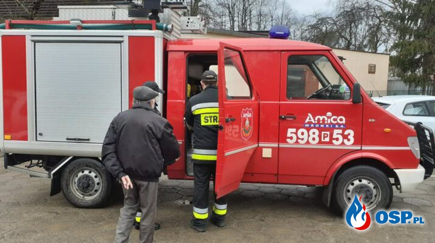 Wronki – pomoc w transporcie do punktu szczepień OSP Ochotnicza Straż Pożarna