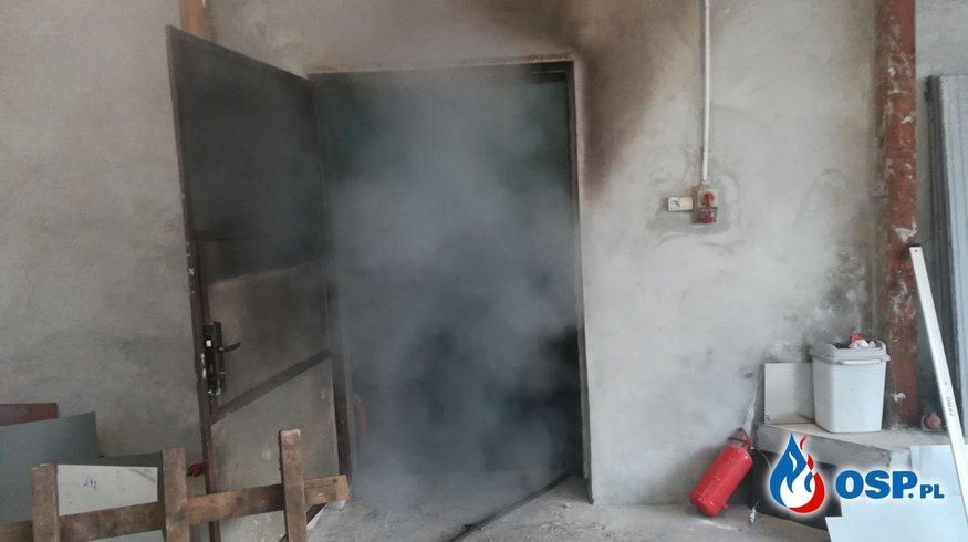 Pożar OSP Ochotnicza Straż Pożarna