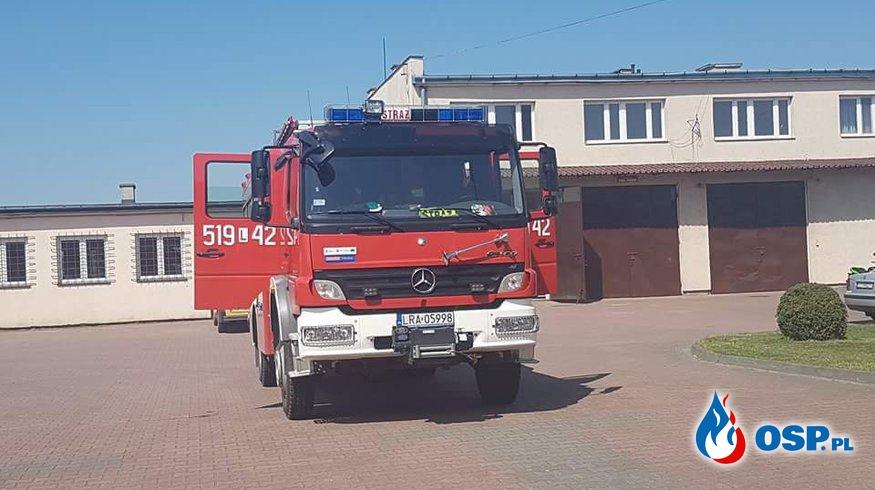 Zabezpieczenie operacyjne powiatu.  OSP Ochotnicza Straż Pożarna