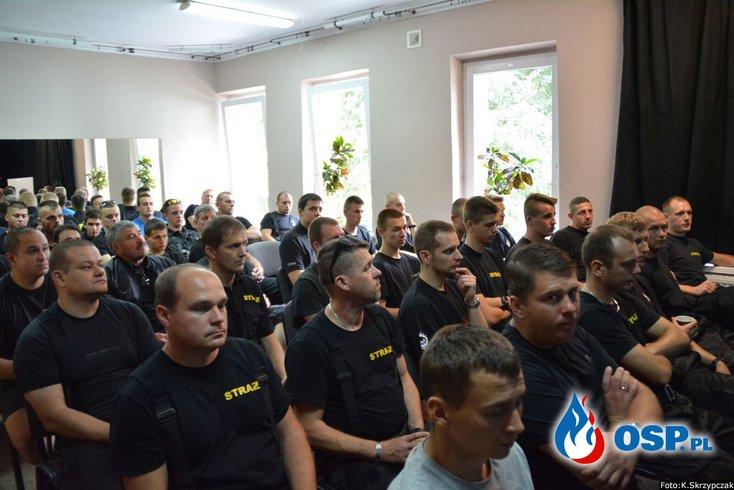 Zgrupowanie szkoleniowe jednostek z terenu pow. goleniowskiego. OSP Ochotnicza Straż Pożarna