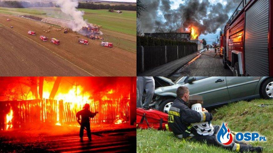 Tak wygląda służba Ochotniczych Straży Pożarnych. 149 zdjęć z akcji OSP! OSP Ochotnicza Straż Pożarna