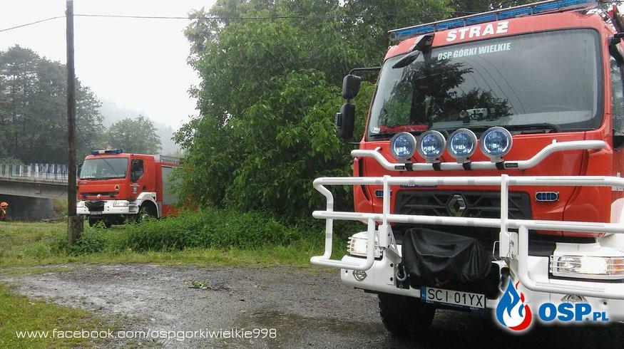 Ćwiczenia powódź 2018 OSP Ochotnicza Straż Pożarna