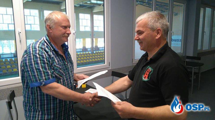 Podpisanie umowy o współpracy pomiędzy OSP Czerwieńsk a SDH Mezilesi OSP Ochotnicza Straż Pożarna