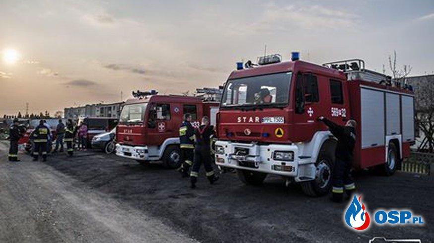 ĆWICZENIA OSP Ochotnicza Straż Pożarna