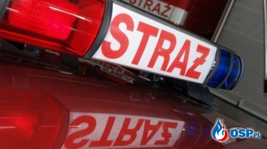 O krok od tragedii! Mężczyzna potrącony przez pociąg OSP Ochotnicza Straż Pożarna