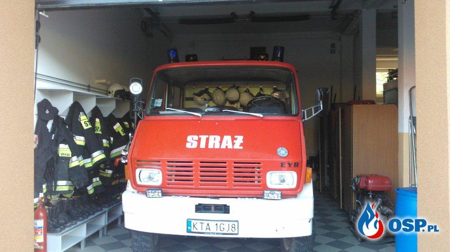 Inspekcja gotowości bojowej OSP Ochotnicza Straż Pożarna
