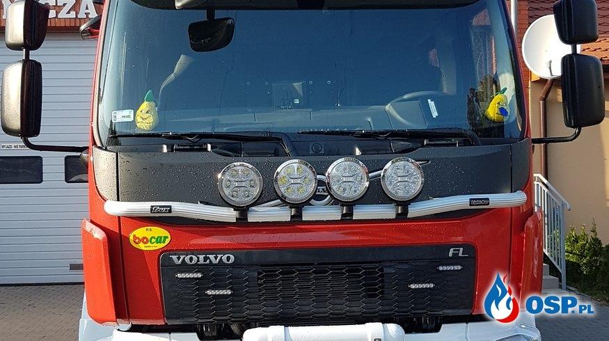 Nowy pojazd już w remizie OSP Ochotnicza Straż Pożarna