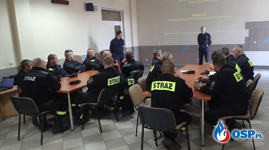Szkolenie kierowców - konserwatorów sprzętu ratowniczego OSP OSP Ochotnicza Straż Pożarna
