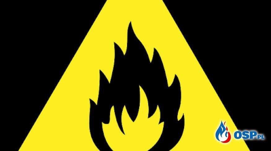 Pożar opon OSP Ochotnicza Straż Pożarna